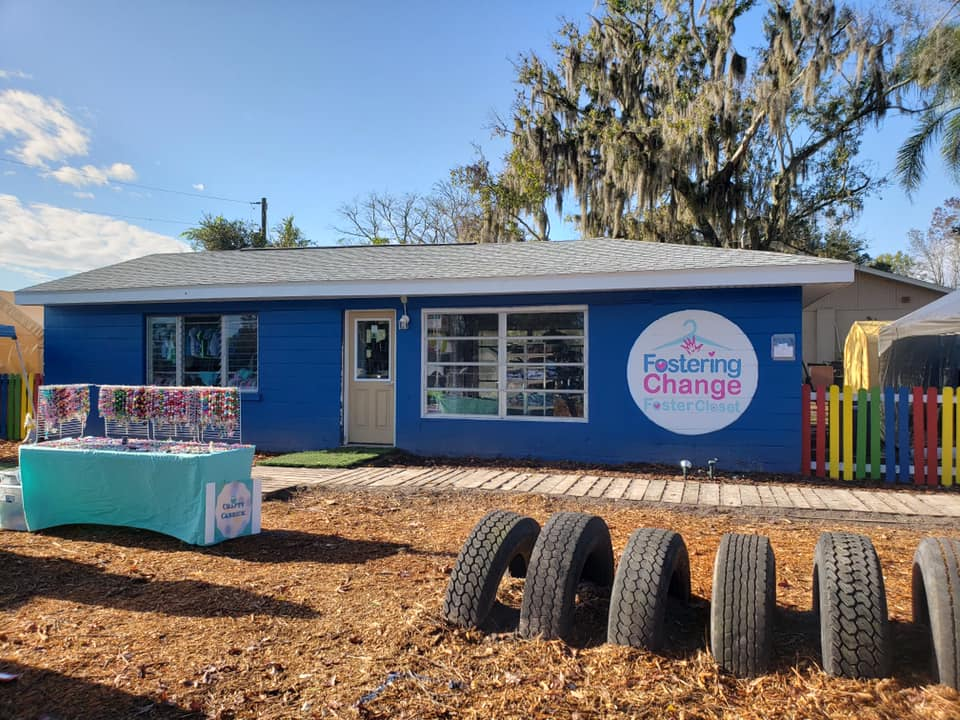foster care clothing closet located at 10207 Land O Lakes Blvd Land o' Lakes, Florida 34638 Open 24 hours day, 7 days per week