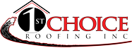 Foster Closet sponsor 1st Choice Roofing Logo.